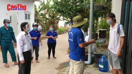Bình Thủy phát huy vai trò Tổ COVID cộng đồng