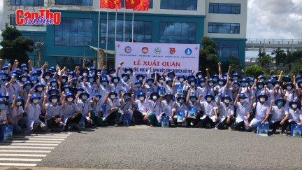 Trường Đại học Y dược Cần Thơ chi viện TP Hồ Chí Minh chống dịch