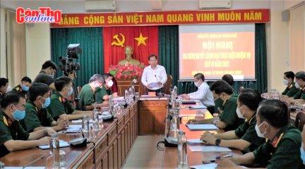 Lực lượng vũ trang thành phố nâng cao công tác sẵn sàng chiến đấu