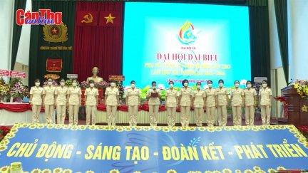 Đại hội đại biểu Phụ nữ Công an TP Cần Thơ lần thứ XII