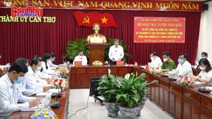Tăng cường kiểm tra, giám sát, thi hành kỷ luật của Đảng