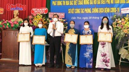 Họp mặt kỷ niệm 91 năm ngày thành lập Hội Liên hiệp Phụ nữ Việt Nam