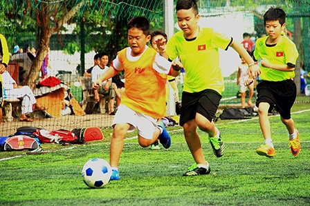 CLB Bóng đá Trường Tiểu học Võ Trường Toản: Mô hình cần được nhân rộng