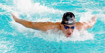 """""""Chất"""" hơn ở Giải bơi lội Đại hội TDTT ĐBSCL"""