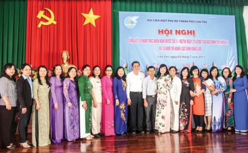 Các cấp Hội Liên hiệp Phụ nữ tiếp tục tham mưu, thực hiện hiệu quả Nghị quyết 11