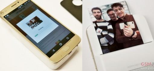 Máy in ảnh tại chỗ cho điện thoại Motorola