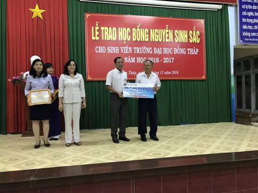 Quỹ Khuyến học Nguyễn Sinh Sắc tiếp nhận trên 62 tỉ đồng