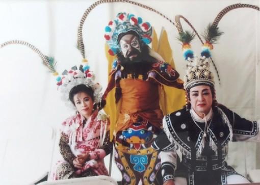 Nghệ nhân ưu tú Vũ Linh Tâm: Truyền đời nghề hát bội