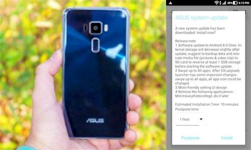 Asus Zenfone 3 được cập nhật lên Android 8.0 Oreo