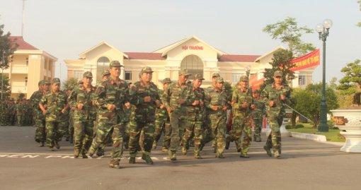 300 cán bộ, chiến sĩ tham gia Ngày chạy thể thao CISM