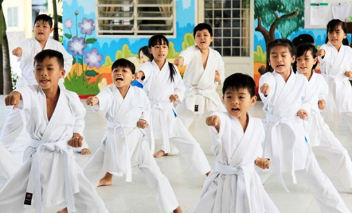 Cái Răng xây chắc nền móng karatedo