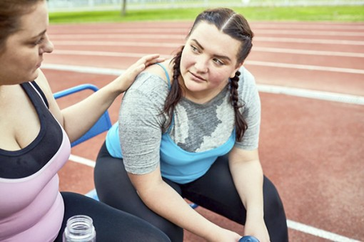 Tập thể dục có lợi  cho bệnh nhân hen suyễn  bị béo phì