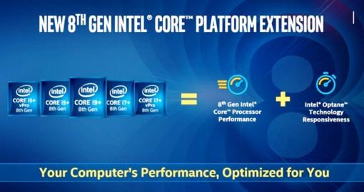 Intel công bố một loạt CPU và chipset mới