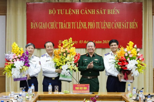 Thiếu tướng Nguyễn Văn Sơn phụ trách Tư lệnh Cảnh sát biển