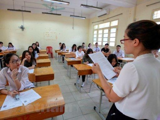 Bộ Giáo dục và Đào tạo công bố phổ điểm các môn thi Trung học phổ thông quốc gia 2018