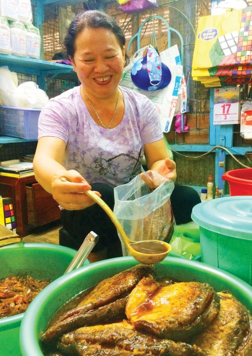Đậm đà hương vị mắm cá mè vinh