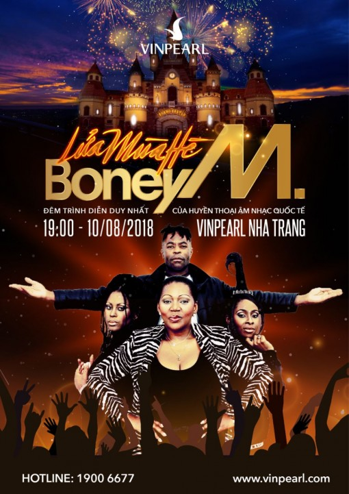 Boney M và những bản disco đi cùng năm tháng