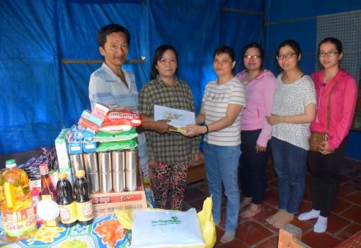 Giúp gia đình ông Võ Văn Thành vượt qua khó khăn
