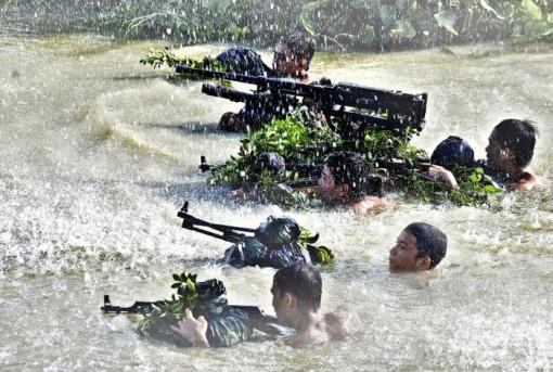 Luyện quân mùa nước nổi