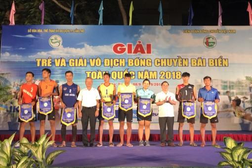 Khai mạc Giải vô địch Bóng chuyền bãi biển toàn quốc 2018