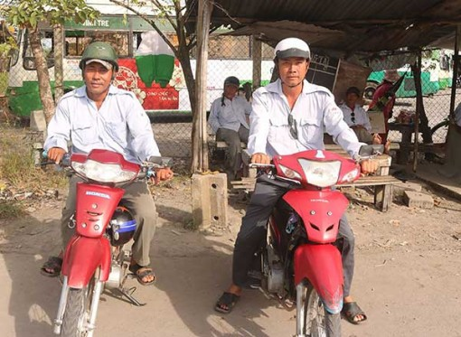 Nghiệp đoàn mô tô khách giữ gìn an ninh trật tự