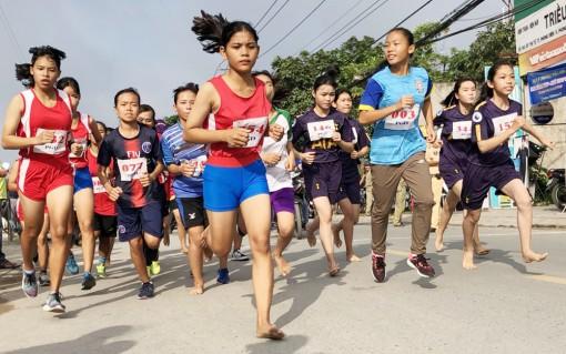 Ô Môn hạng Nhất toàn đoàn Giải việt dã TP Cần Thơ 2018