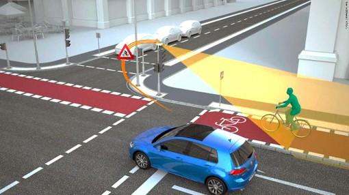 """Ô tô và đèn giao thông sẽ """"nói chuyện"""" với nhau?"""