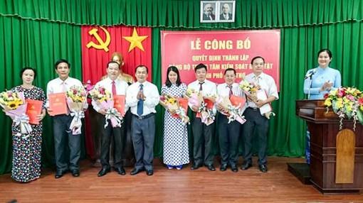 Thành lập Đảng bộ Trung tâm kiểm soát bệnh tật TP Cần Thơ
