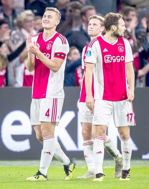 Ajax Amsterdam - Gập ghềnh đường trở lại vinh quang