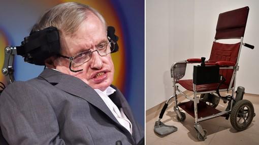 Bán đấu giá di vật của thiên tài Stephen Hawking