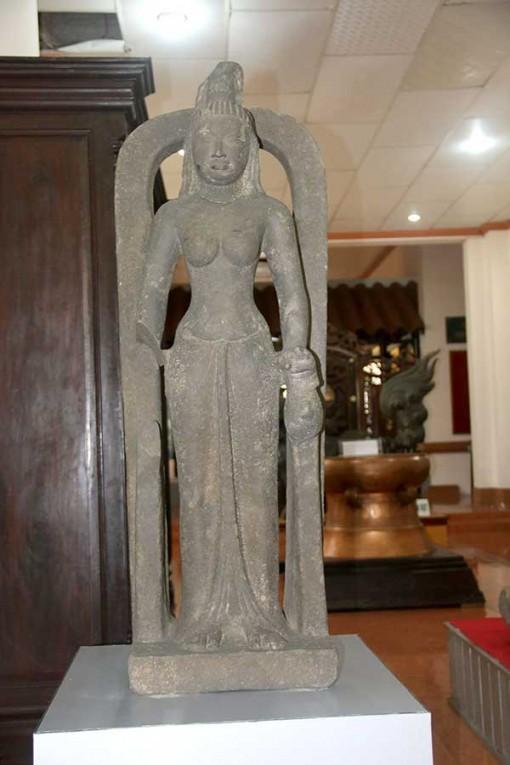 Nói thêm về pho tượng cổ tìm thấy ở sông Cổ Chiên