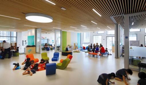 """Xu hướng thiết kế trường học """"xanh"""" nâng cao sức khỏe và chất lượng học tập"""