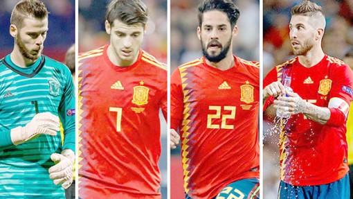 2018 - Năm đáng buồn  của đội tuyển Tây Ban Nha