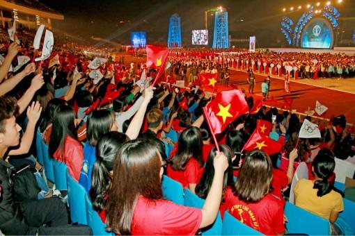 Khai mạc Đại hội Thể thao toàn quốc lần VIII-2018