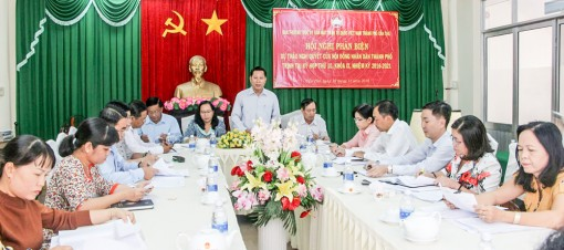 Mặt trận tham gia xây dựng chính quyền vững mạnh