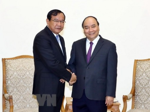 Prime Minister applauds development of Vietnam-Cambodia relations