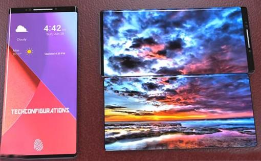 LG được cấp bằng sáng chế cho điện thoại màn hình gập