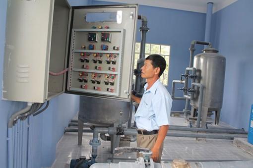 Nâng cao tỷ lệ hộ dân nông thôn sử dụng nước sạch