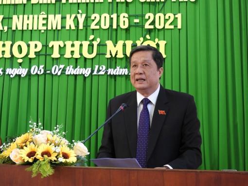 Khai mạc kỳ họp thứ 10 HĐND TP Cần Thơ khóa IX