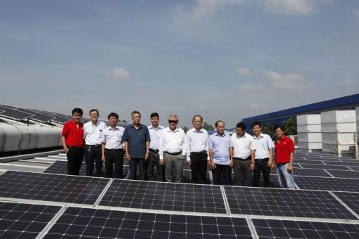 Tập đoàn Sao Mai sẽ đầu tư 2 dự án điện năng lượng mặt trời tại tỉnh Bến Tre