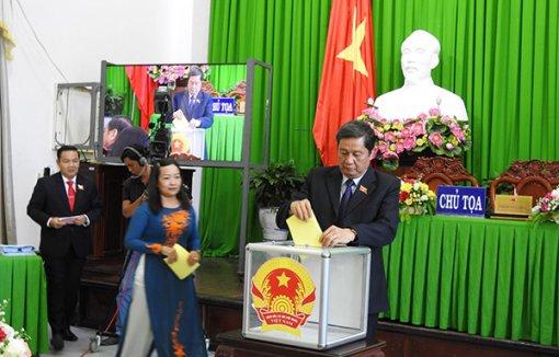 Kết quả lấy phiếu tín nhiệm 27 người giữ chức vụ do HĐND thành phố bầu