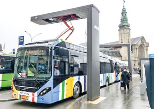 Luxembourg miễn phí giao thông công cộng