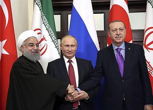 Nga trở lại Trung Đông