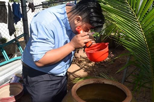 Cảnh giác với bệnh sốt xuất huyết cuối mùa mưa