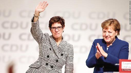 """""""Merkel.2"""" dẫn dắt  đảng cầm quyền ở Đức"""