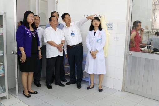 Đồng chí Bí thư Thành ủy làm việc với Bệnh viện Tim mạch TP Cần Thơ
