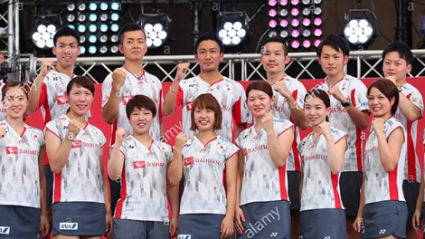 Nhật Bản sẽ thống trị  cầu lông thế giới?