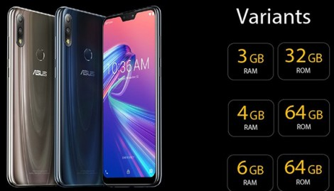 Asus ra mắt ZenFone Max Pro M2 và ZenFone Max M2