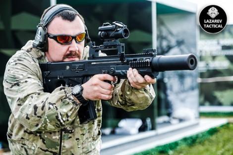 """Đặc nhiệm Nga được trang bị """"siêu súng"""" bắn thủng áo chống đạn"""