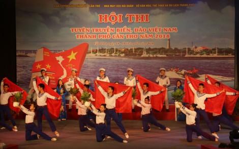 Khai mạc Hội thi Tuyên truyền biển, đảo Việt Nam tại Cần Thơ